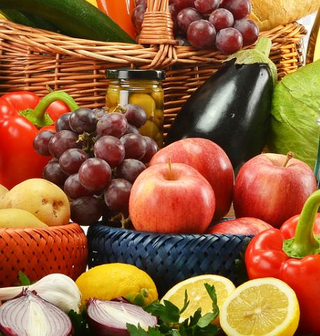 Les fruits et des legumes font parties des aliments les plus riches en potassium