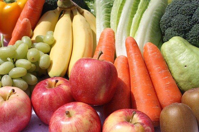 Fruit et légumes des aliments alcalin avec un indice PRAL négatif