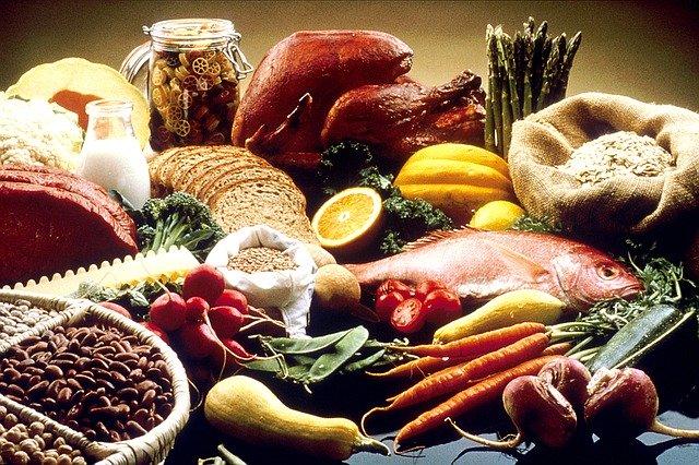 indice PRAL photo d'aliments acides et basique