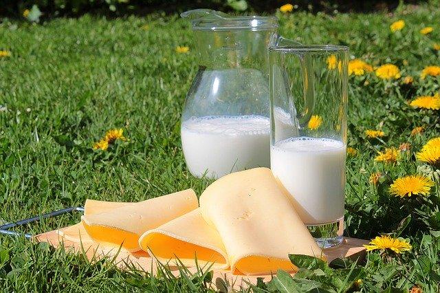 produits laitier dans l'équilibre acido-basique