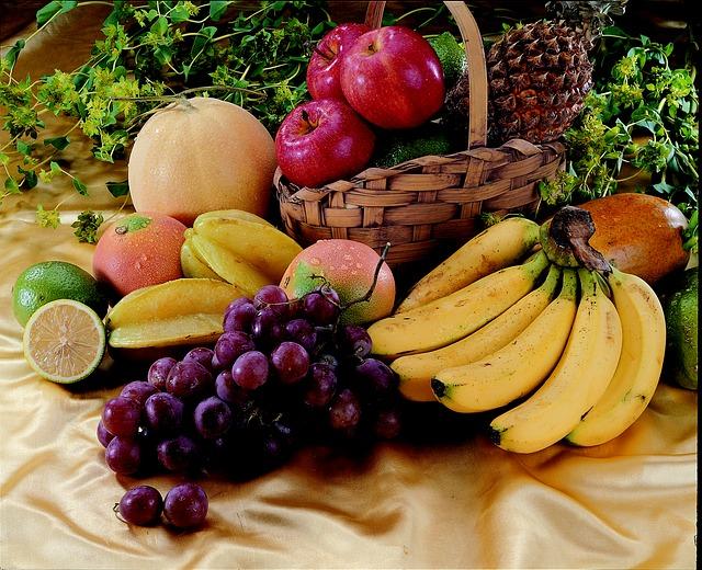 fruit, aliments qui possèdent un indice PRAL basique