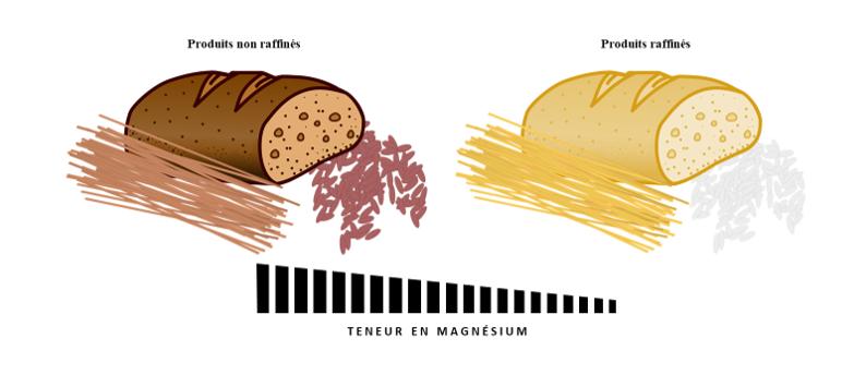 Alimentation riche en magnésium