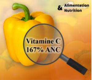 Valeurs nutritionnelles des aliments