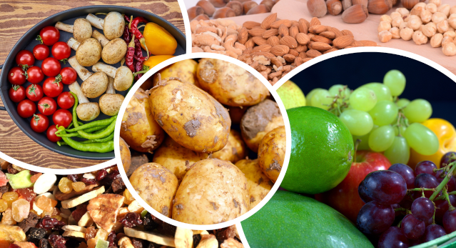 Aliments les plus riches en potassium