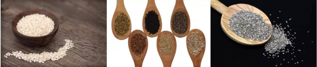 Les graines et oléagineux contiennent beaucoup de calcium