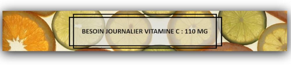 Références nutritionnelles pour la population en vitamine C